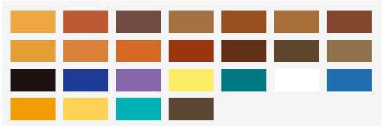culori pigmenti